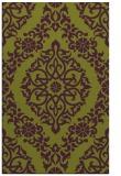 rug #944921 |  purple damask rug
