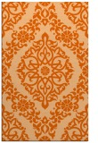 rug #944953 |  red-orange geometry rug