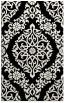 rug #944965 |  black geometry rug