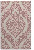 rug #945033 |  pink popular rug