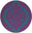 rug #945130 | round traditional rug