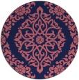 rug #945142 | round traditional rug