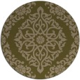 rug #945162 | round damask rug