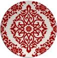 rug #945293 | round damask rug