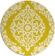 rug #945329 | round white popular rug