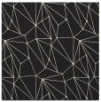 rug #945789 | square black graphic rug