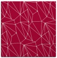 rug #945885 | square red graphic rug