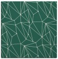 rug #945901   square green abstract rug