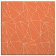 rug #945973 | square orange graphic rug