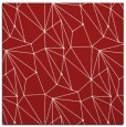 rug #946021 | square red graphic rug