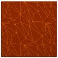 rug #946029 | square red-orange rug