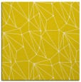 rug #946081 | square yellow graphic rug