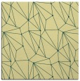 rug #946089 | square yellow abstract rug