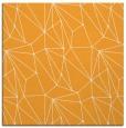 rug #946121 | square light-orange graphic rug