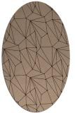 rug #946140 | oval abstract rug