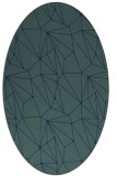 rug #946166 | oval abstract rug