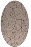 rug #946285 | oval abstract rug
