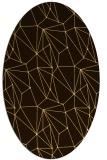rug #946440   oval abstract rug