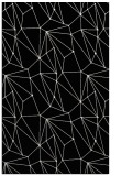 rug #946489 |  black abstract rug