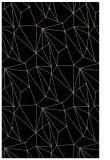 rug #946497 |  beige abstract rug