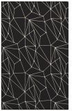 rug #946509 |  black abstract rug