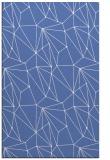 rug #946533    blue abstract rug