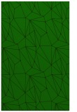rug #946545 |  green abstract rug