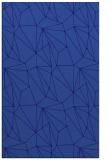 rug #946589 |  blue-violet abstract rug