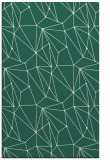 rug #946621 |  green graphic rug