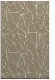 rug #946641 |  mid-brown abstract rug
