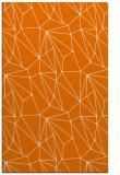 rug #946689 |  orange graphic rug