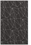 rug #946697    orange abstract rug