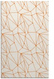 rug #946761 |  red-orange abstract rug