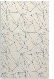 rug #946781    white abstract rug