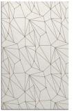 rug #946785    white abstract rug