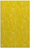 rug #946801 |  yellow abstract rug