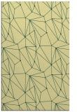 rug #946809 |  yellow graphic rug