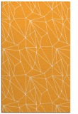 rug #946841 |  light-orange abstract rug