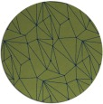rug #946890 | round abstract rug