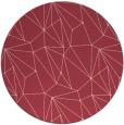 rug #947069 | round pink graphic rug