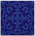rug #949469 | square blue-violet damask rug