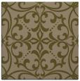 rug #949481 | square brown damask rug