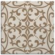rug #949517 | square mid-brown damask rug
