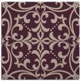 rug #949525 | square pink damask rug