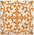 rug #949569 | square orange damask rug