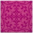 rug #949581 | square pink damask rug