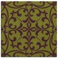 rug #949601   square purple damask rug