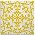 rug #949681 | square white damask rug