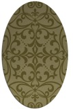rug #950065 | oval light-green rug