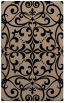 rug #950097 |  beige damask rug